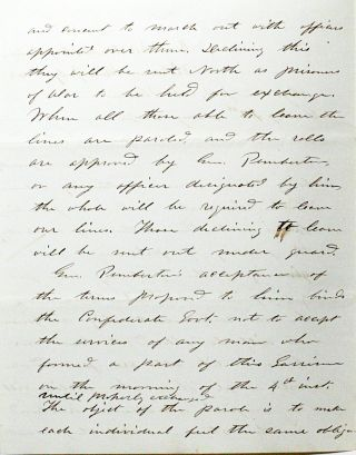 Autograph Letter Signed [ALS] from Vicksburg, 1863