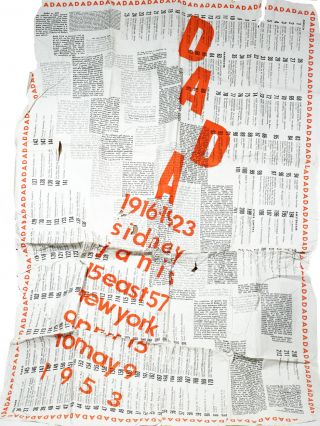 DADA 1916–1923: Catalog of the Exhibition