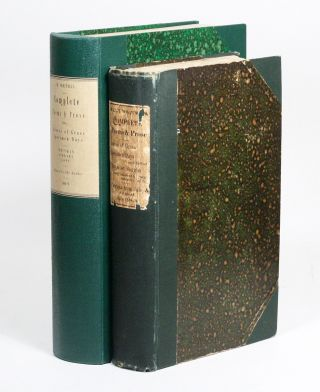 Complete Poems & Prose of Walt Whitman 1855... 1888 [Leaves of Grass]