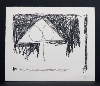 Madrid Suite, Number 9 [I]. Robert Motherwell